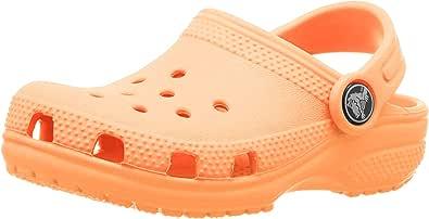 Crocs Unisex Kids Classic Clogs, Cantaloupe, 4 UK Child
