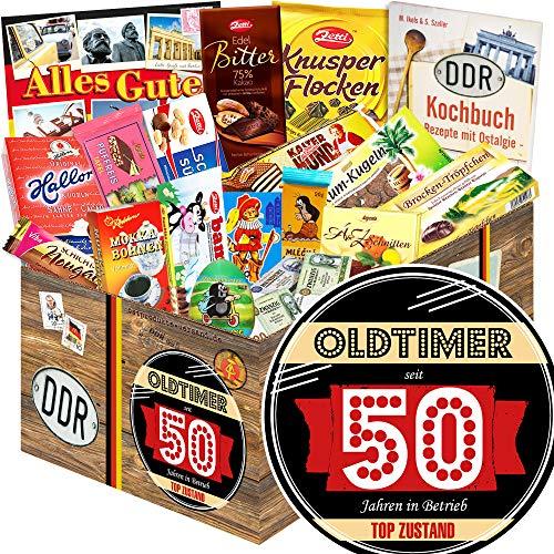 Oldtimer 50 | Schokolade Box DDR | Geschenkpaket Mann