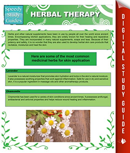 Herbal Therapy (Speedy Study Guides) (English Edition)