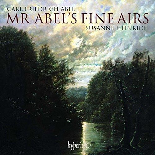 Carl Friedrich Abel: Mr Abel's Fine Airs - Werke für Gambe solo