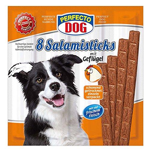 Perfecto Dog 8er Salami Sticks Geflügel