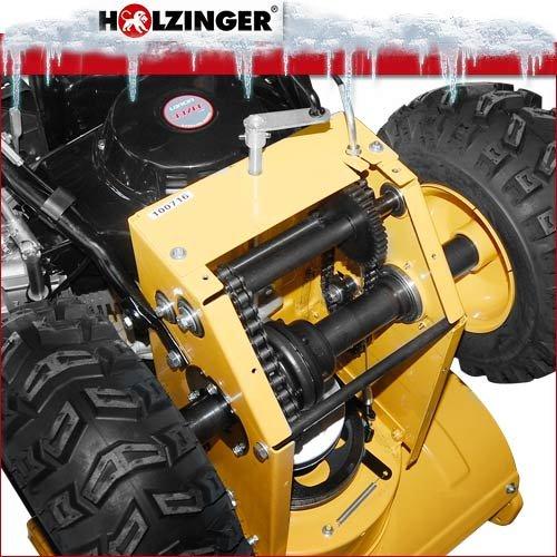 Holzinger Benzin-Schneefräse HSF-110(LE) mit E-Start, Licht und Radantrieb - 7