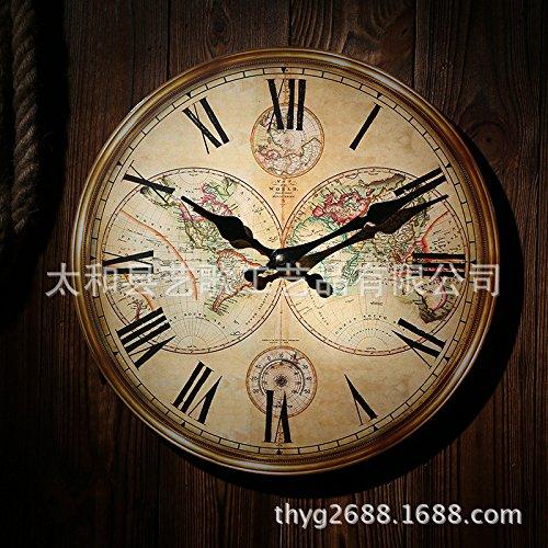 VariousWallClock Wall Clocks Wanduhr Uhren Wecker Uhr Haushalt Pendeluhr Europäischer Stil...