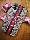 Chun Hing Luxus Designer GG Stil Schutzhülle für iPhone XR 6.1