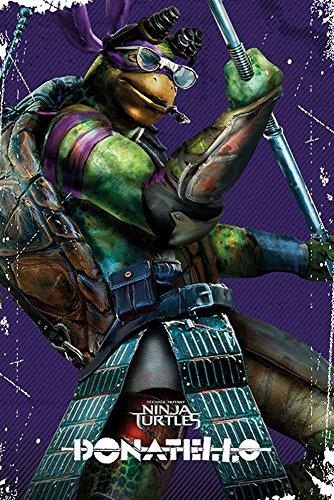 empireposter - TMNT - Donatello - Pose  - Größe (cm), ca. 61x91,5 - Poster, NEU -