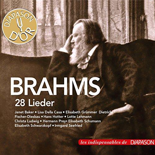 Brahms: 28 Lieder (Les indispensables de Diapason) de ...