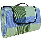Songmics 195 x 150 cm Colchón para picnic y deporte al aire libre, a prueba de humedad GCM50C