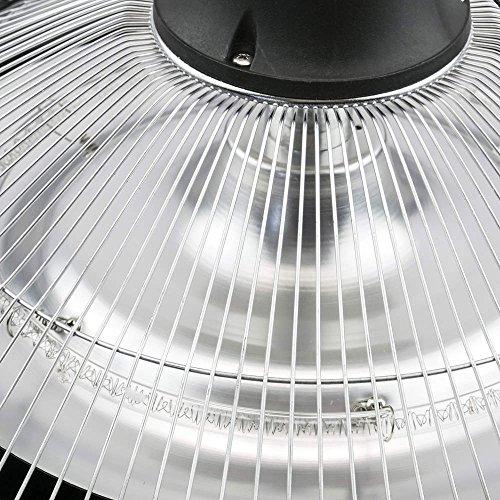PrimeMatik – Decke Heizung Heizkörper für Innen und Außen Bar Restaurant Terrasse 425mm 1500W mit Fernbedienung - 6