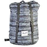 Herschel, Unisex adulto, Retreat Backpack Classics White Noise, Poliestere, Zaini, Blu, T-U EU