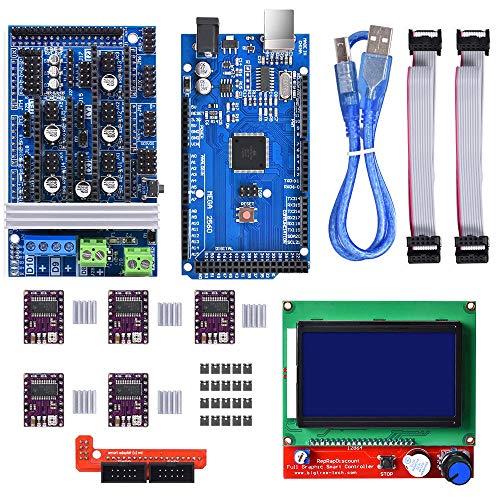 WINSINN Kit controlador impresora 3D Arduino Mega