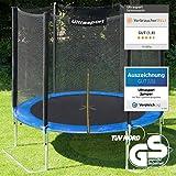 Ultrasport Gartentrampolin Jumper 180 cm inkl. Sicherheitsnetz - 2