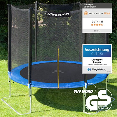 Ultrasport Gartentrampolin Jumper 251 cm - 2