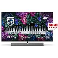 Philips Ambilight TV 48OLED935/12 OLED TV 48 Zoll - 121 cm mit Sound von Bowers & Wilkins (P5 Picture Engine mit KI, 4K…