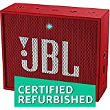 (Renewed) JBL Go Portable Bluetooth Speakers (Red)