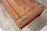Massiver Couchtisch MARKANT 100 cm Sheesham mit Schublade Holztisch Tisch - 6