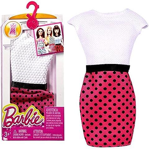 Barbie - Tendencia de la Moda para la Ropa de la Muñeca Barbie - Vestido en la Óptica de Ropa