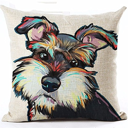 tbs-cute-animal-dog-puppy-colourful-gift-idea-cushion-covers-schnauzer