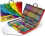 Crayola Valigetta Arcobaleno Per Colorare e Disegnare, Età 4 Anni, per Gioco e Regalo, Colori Assortiti, 140 Pezzi, 04-2532