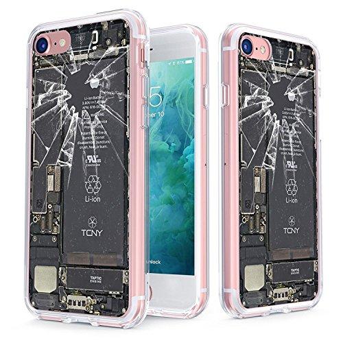 True Color claro escudo Broken iPhone colección, Broken iPhone, For iPhone 7