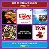 #7: BEST OF INTERNATIONAL HITS - Pack 19 ( Biggest International Hits, Original Songs, Set Of 6 MP3s With 250 + Tracks)