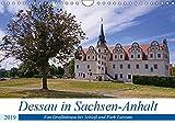 Dessau in Sachsen-Anhalt (Wandkalender 2019 DIN A4 quer): Erkundet man Dessau in Sachsen-Anhalt mit dem Fahrrad fährt man durch viel Landschaft. (Monatskalender, 14 Seiten ) (CALVENDO Orte)