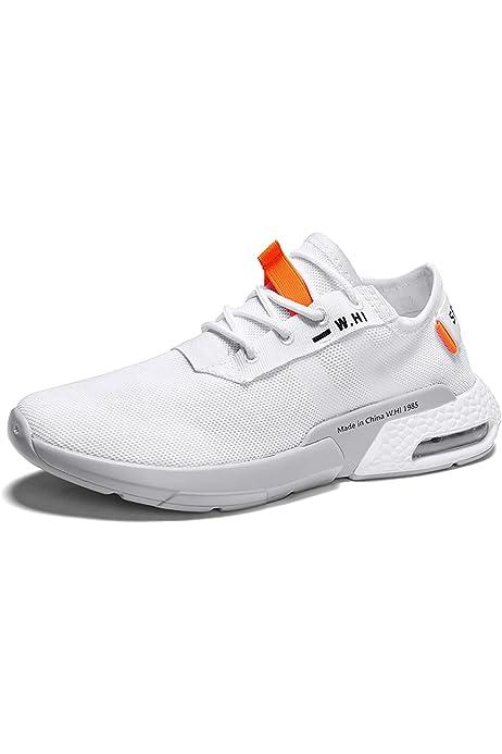 OPAKY Nuevos Zapatos para Hombre Flying Weaving le Running Zapatos ...