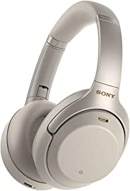 Sony WH-1000XM3 Bluetooth Koptelefoon, Noise Cancelling, Snellaadfunctie, Microfoon, Zilver