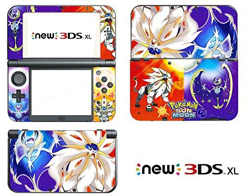 Vanknight Vinyl-Aufkleber für Nintendo 3DS XL 2015
