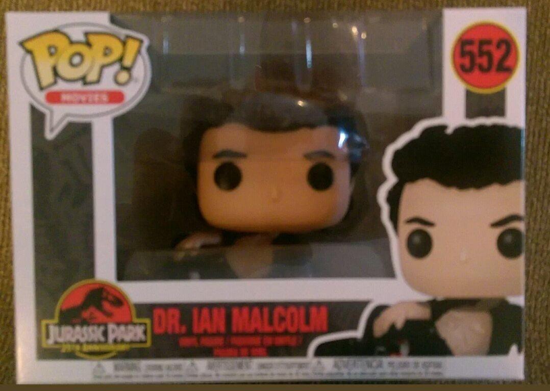 Funko Pop Dr. Ian Malcolm herido, sin camisa (Jurassic Park 552) Funko Pop