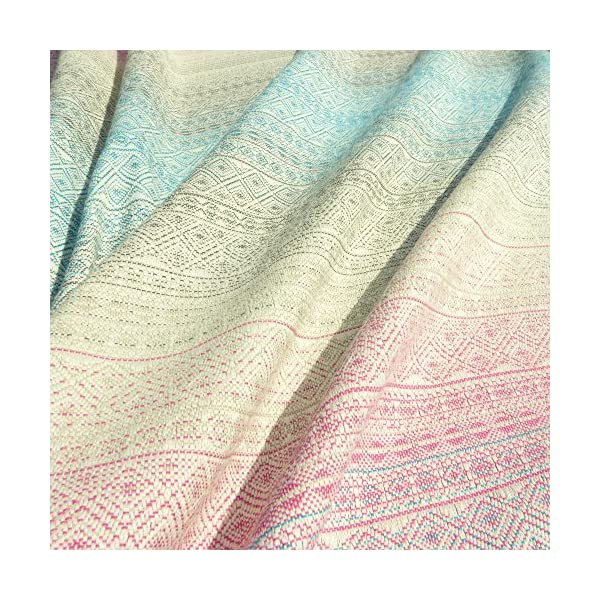 Didymos Woven Baby Wrap, Prima Aurora, Size 6, 470 cm, Multicolor Didymos Various carrying positions, in front, sideways an on the back Special, diagonally stretchable cloth to give optimal support Holds your baby in the anatomically correct posture 5