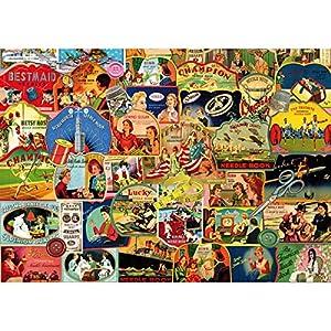 Piatnik 5414 - Puzzle (1000 Piezas), diseño Vintage