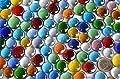 500g Glasnuggets transp. 15-21mm bunt Deko Mosaiksteine ca 120St von 500 g Glasnuggets 15-21mm - Du und dein Garten