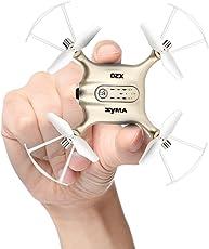 Mini RC UFO Quadcopter DoDoeleph Syma X20 2.4Ghz 6 assi giroscopio Telecomando RTF Elicottero Nano Puntata Drone Modo senza testa con Hold Holding e Light One Key Togliere l'atterraggio d'oro