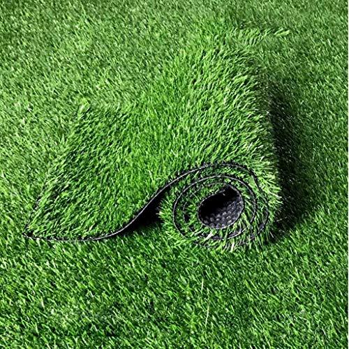 YUER Premium Synthetic Kunstrasen 20mm Florhöhe, gefälschte Kunstrasen mit hoher Dichte, natürlich und realistisch aussehender Garten, Haustierhund, Rasen (0,5 m * 2 m) (Size : 2mx4m)