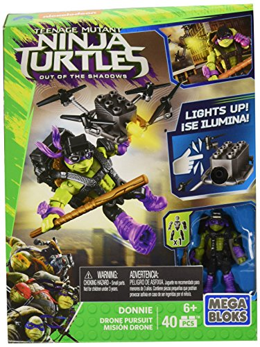 Teenage Mutant Ninja Tortue Out of the Shadows - drones utilisent Donnie