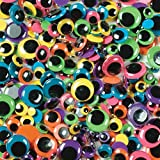 Creativity Street Wiggle Eyes Bright 100-Piece Assorted Sizes