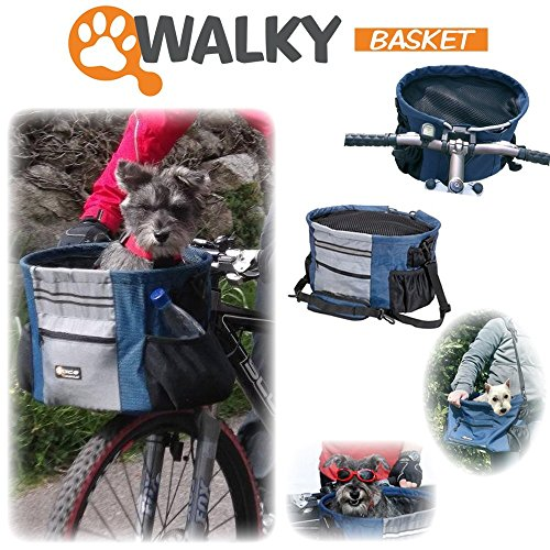 Fahrradkorb Walky Hundetransportkorb für Lenker