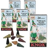 5 Päckchen Knox Räucherkerzen - Weihrauch-Myrrhe preisvergleich bei billige-tabletten.eu