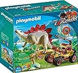 PLAYMOBIL 9432 - Forschermobil mit Stegosaurus Spiel