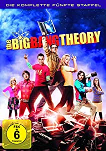 The Big Bang Theory - Die komplette fünfte Staffel [3 DVDs]