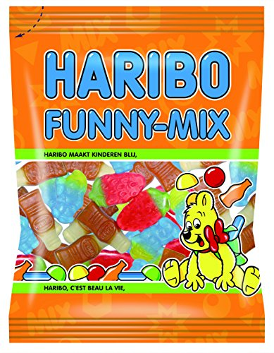 HARIBO Funny-Mix Helal Halal Gummibärchen Weingummi Fruchtgummi 12x75g