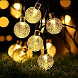 OxyLED Solar String Lights, 30 LED Garden Patio Outside String Lights,Waterproof Indoor/Outdoor String Lights, Great Garden Terrace Patio Outside Xmas lights(Ambiance Light)