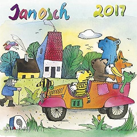 Janosch 2017 - Kinderkalender, Oh wie schön ist Panama, Kalender für Kinder, Broschürenkalender - 30 x 30 cm