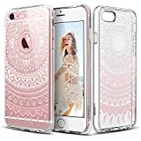 Carcasa iPhone 6 / 6s , ESR iPhone 6s Funda / iPhone 6 Funda Parachoques Diseño Exótico Patrón Funda Cover Carcasa Para iPhone 6 / 6s -Rosa Manjusaka