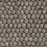 HAY Teppich Peas Dark Grey, 80 x 140 cm