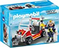 Playmobil 5398 - Feuerwehrkart von geobra Brandstätter Stiftung & Co. KG, de toys, GEOVR