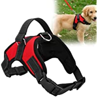 SBE Red Adjustable Dog Harness Belt with Handle on Top (Small)