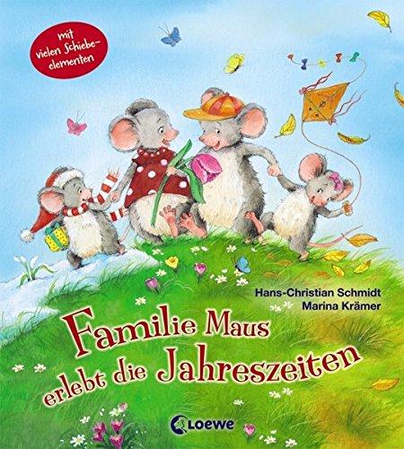 Familie Maus erlebt die Jahreszeiten
