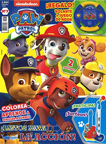 Patrulla Canina - Revista + juego agua juguete - Nº 7