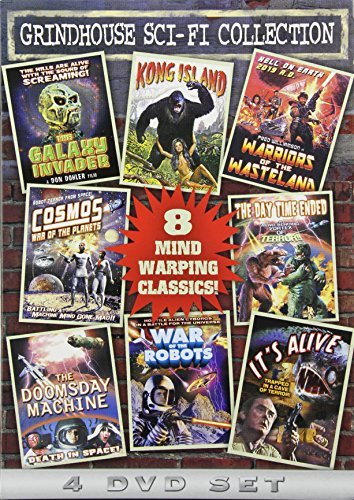 Preisvergleich Produktbild Grindhouse Sci-Fi Collection (The Galaxy Invader / Kong Island / Warriors of the Wasteland / Cosmos: War of the Planets / The Day Time Ended / The Doomsday Machine / War of the Robots / Its Alive) (4-DVD) by Various